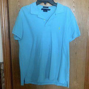 Ralph Lauren Polo shirt, blue, medium, classic fit